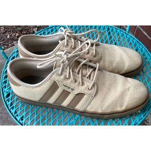 Adidas Hemp Skateboarding Seeley Shoes 10.5